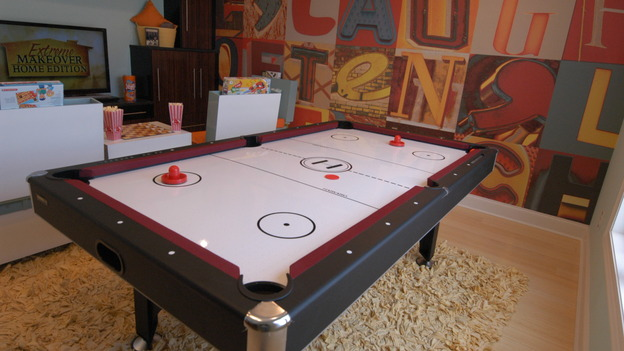 EXTREME MAKEOVER HOME EDITION - &quot;Augustin Family,&quot; - Game Room, on &quot;Extreme Makeover Home Edition,&quot; Sunday, March 1st on the ABC Television Network.