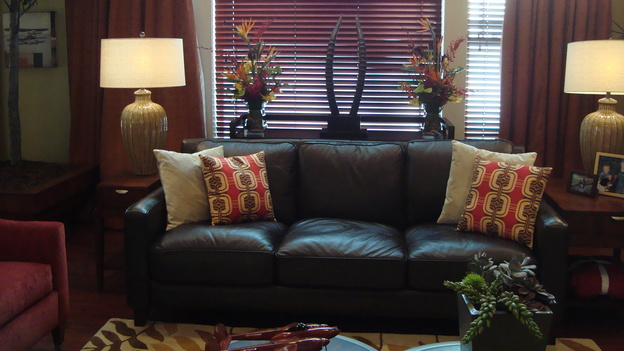 "EXTREME MAKEOVER HOME EDITION - ""Nickless Family,"" - Living Room Details, on ""Extreme Makeover Home Edition,"" Sunday, November 30th on the ABC Television Network."
