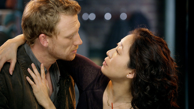 Happily DivorcedCristina and Owen have had their ups and downs romantically over the years. Through all the bumps in the road, they somehow manage to find their way back to each other. Divorce may be the best thing that ever happened to their marriage.