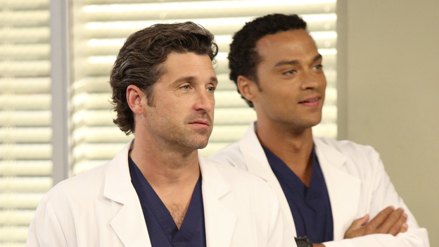 "GREY'S ANATOMY - ""Remember the Time"" - (ABC/DANNY FELD)PATRICK DEMPSEY, JESSE WILLIAMS"
