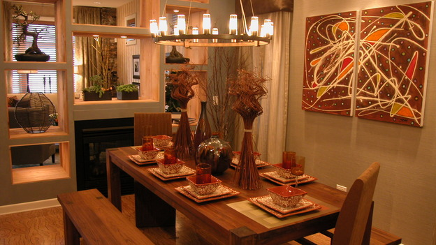 "EXTREME MAKEOVER HOME EDITION - ""Noyola Family,"" - Dining Rooms, on ""Extreme Makeover Home Edition,"" Sunday, January 14th on the ABC Television Network."