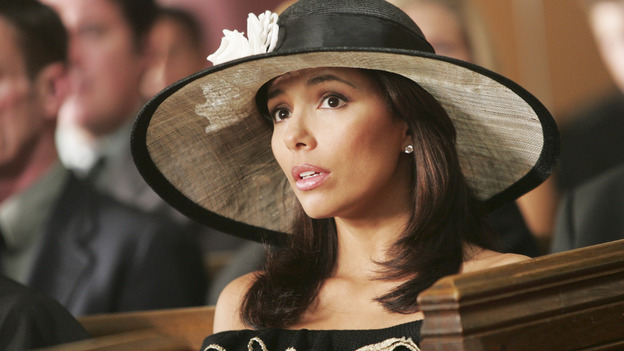 "DESPERATE HOUSEWIVES ""Next"" - Gaby at Rex Van de Kamp's funeral - (ABC/VIVIAN ZINK) EVA LONGORIA"