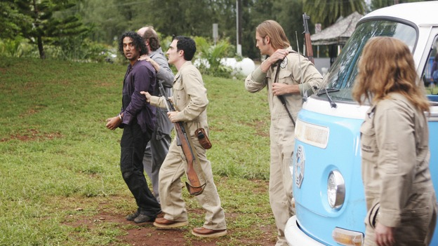 "LOST - ""He's Our You"" - Things begin to unravel when one of the survivors goes rogue and takes matters into their own hands -- risking the lives of everyone on the island -- on ""Lost,"" WEDNESDAY, MARCH 25 (9:00-10:02 p.m., ET) on the ABC Television Network.  (ABC/MARIO PEREZ)NAVEEN ANDREWS, ERIC LANGE, PATRICK FISCHEL, JOSH HOLLOWAY"