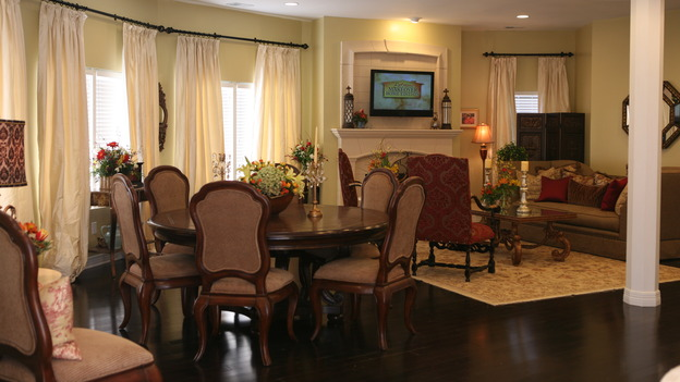 "EXTREME MAKEOVER HOME EDITION - ""Usea Family,"" -  Dining Room, on ""Extreme Makeover Home Edition,"" Sunday, May 18th on the ABC Television Network."