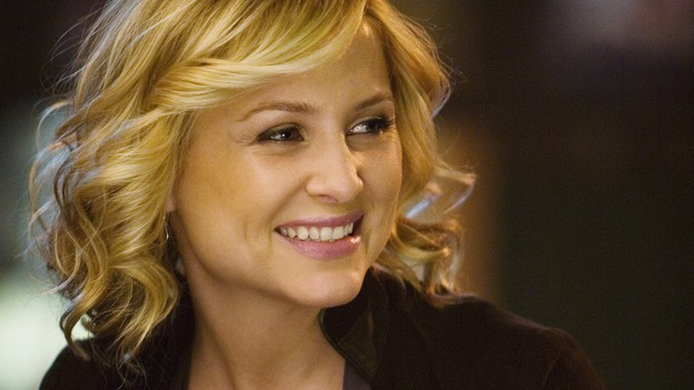 "GREY'S ANATOMY - ""Beat Your Heart Out"" - Dr. Arizona Robbins, on ""Grey's Anatomy,"" THURSDAY, FEBRUARY 5 (9:00-10:02 p.m., ET) on the ABC Television Network. (ABC/RANDY HOLMES) JESSICA CAPSHAW"