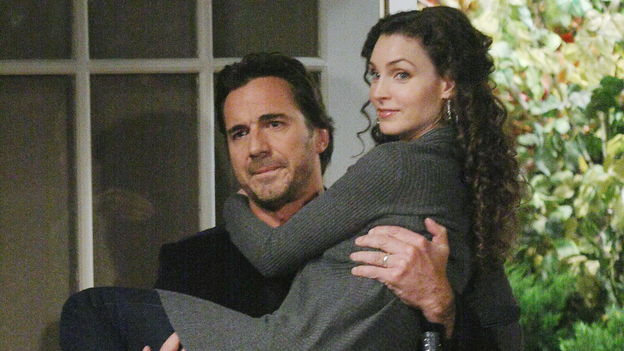Alicia Minshew as Kendall Hart, Thorsten Kaye as Zach Slater