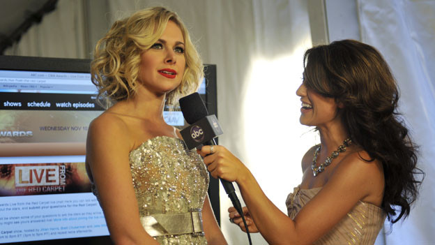 "THE 44TH ANNUAL CMA AWARDS - GENERAL - ""The 44th Annual CMA Awards"" were broadcast live from the Bridgestone Arena in Nashville, WEDNESDAY, NOVEMBER 10 (8:00-11:00 p.m., ET) on the ABC Television Network. (ABC/KATHERINE BOMBOY)LAURA BELL BUNDY, JILLIAN HARRIS"