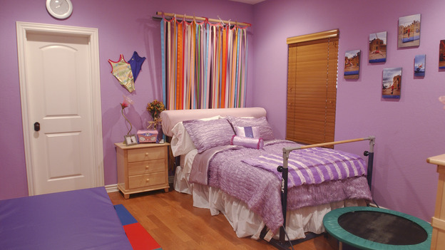 EXTREME MAKEOVER HOME EDITION - &quot;Okvath Family,&quot; - Girl's Bedroom, on &quot;Extreme Makeover Home Edition,&quot; Sunday, May 13th on the ABC Television Network.