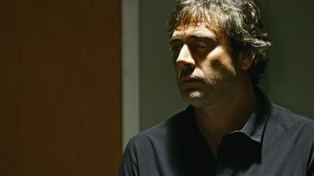 "GREY'S ANATOMY - ""What a Difference a Day Makes"" - Denny Duquette reappears to Izzie, signaling that cancer is affecting her brain once again, on ""Grey's Anatomy,"" THURSDAY, MAY 7 (9:00-10:02 p.m., ET) on the ABC Television Network. (ABC/SCOTT GARFIELD) JEFFREY DEAN MORGAN"