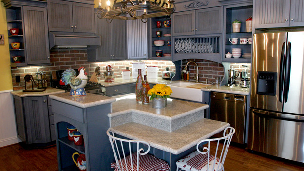"EXTREME MAKEOVER HOME EDITION - ""Elcano Family,"" - Kitchen, on ""Extreme Makeover Home Edition,"" Sunday, November 21st on the ABC Television Network."