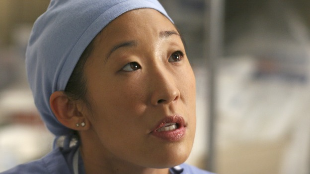 "GREY'S ANATOMY - ""INTO YOU LIKE A TRAIN"" (ABC/MICHAEL DESMOND)SANDRA OH"