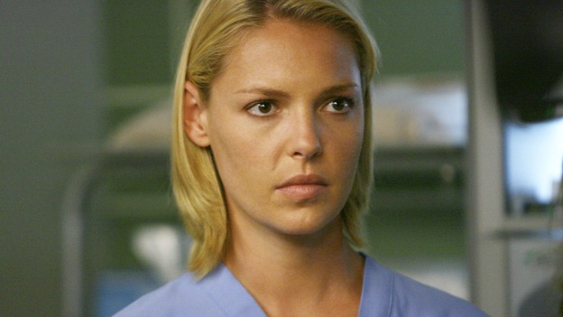 "GREY'S ANATOMY - ""Dream a Little Dream of Me"" - On the two-hour season premiere of ""Grey's Anatomy,"" Meredith and Derek learn that ""happily ever after"" isn't easy, a military doctor who brings in a trauma patient catches Cristina's eye, and the Chief and his staff reel at the news that Seattle Grace is no longer nationally ranked as a top-tier teaching hospital, on ""Grey's Anatomy,"" THURSDAY, SEPTEMBER 25 (9:00-11:00 p.m., ET) on the ABC Television Network. (ABC/SCOTT GARFIELD)KATHERINE HEIGL"
