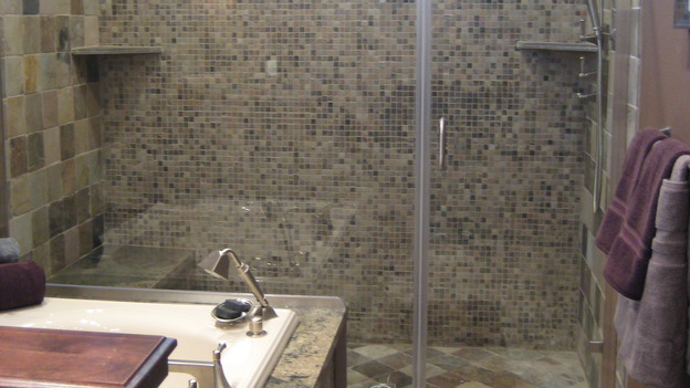 "EXTREME MAKEOVER HOME EDITION - ""Boettcher Family,"" - Bathroom, on ""Extreme Makeover Home Edition,"" Sunday, March 16th on the ABC Television Network."