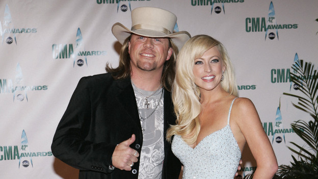 "THE 42ND ANNUAL CMA AWARDS - ARRIVALS - ""The 42nd Annual CMA Awards"" will be broadcast live from the Sommet Center in Nashville, WEDNESDAY, NOVEMBER 12 (8:00-11:00 p.m., ET) on the ABC Television Network. (ABC/ADAM LARKEY)CODY MCCARVER, AMANDA HENKEL"