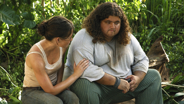 102845_008 -- LOST - (ABC/MARIO PEREZ)EVANGELINE LILLY, JORGE GARCIA