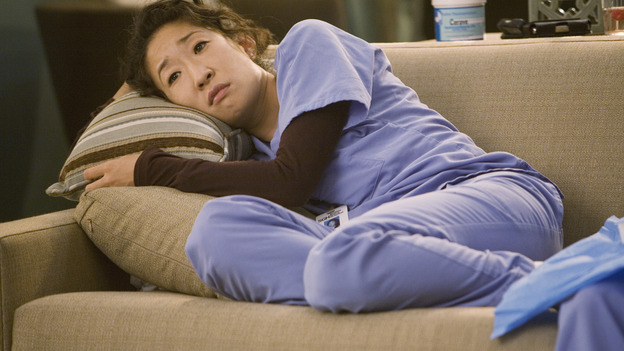 "GREY'S ANATOMY - ""Brave New World"" - Cristina is enthralled by Dermatology, on ""Grey's Anatomy,"" THURSDAY, OCTOBER 16 (9:00-10:01 p.m., ET) on the ABC Television Network. (ABC/RANDY HOLMES) SANDRA OH"