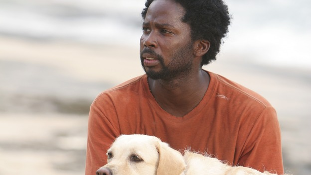 LOST - &quot;Collision&quot; (ABC/MARIO PEREZ)MADISON THE DOG, HAROLD PERRINEAU