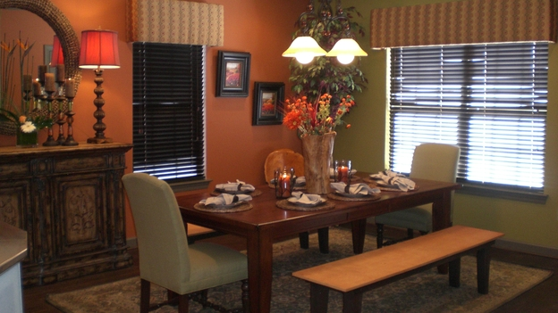 "EXTREME MAKEOVER HOME EDITION - ""Gaudet Family,"" - Dining Room, on ""Extreme Makeover Home Edition,"" Sunday, March 23rd on the ABC Television Network."