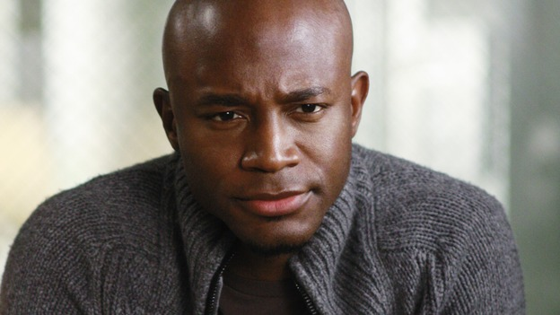 "GREY'S ANATOMY - ""Before and After"" - Dr. Sam Bennett, on ""Grey's Anatomy,"" THURSDAY, FEBRUARY 12 (9:00-10:02 p.m., ET) on the ABC Television Network. (ABC/RON TOM) TAYE DIGGS"