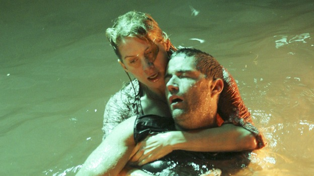LOST - &quot;Lost&quot; - awarded the 2005 Emmy and 2006 Golden Globe for best drama series - is back for a third season of action-packed mystery and adventure that will continue to bring out the very best and the very worst in the people who are lost. In the season premiere episode, &quot;A Tale of Two Cities,&quot; Jack, Kate and Sawyer begin to discover what they are up against as prisoners of &quot;The Others.&quot; The season premiere airs WEDNESDAY, OCTOBER 4 (9:00-10:01 p.m., ET), on the ABC Television Network. (ABC/MARIO PEREZ)ELIZABETH MITCHELL, MATTHEW FOX