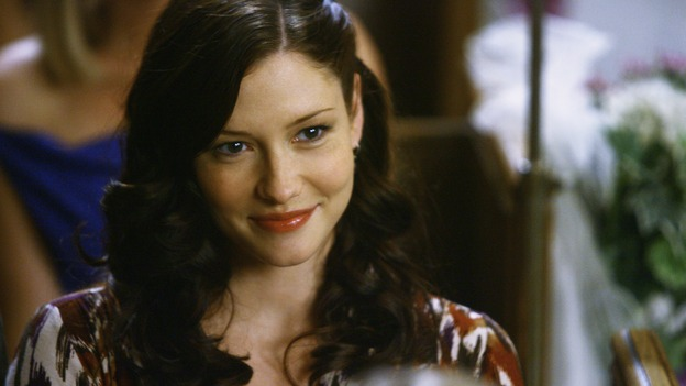 "GREY'S ANATOMY - ""What a Difference a Day Makes"" - Lexie Grey watches the wedding of Izzie Stevens and Alex Karev, on ""Grey's Anatomy,"" THURSDAY, MAY 7 (9:00-10:02 p.m., ET) on the ABC Television Network. CHYLER LEIGH"