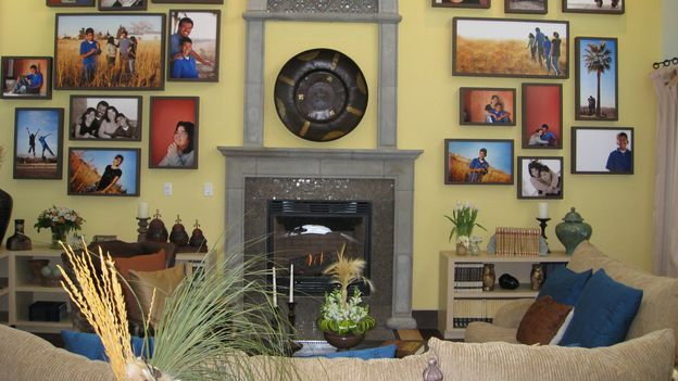 EXTREME MAKEOVER HOME EDITION - &quot;Ruiz Family,&quot; - Living Room Details, on &quot;Extreme Makeover Home Edition,&quot; Sunday, March 15th on the ABC Television Network.
