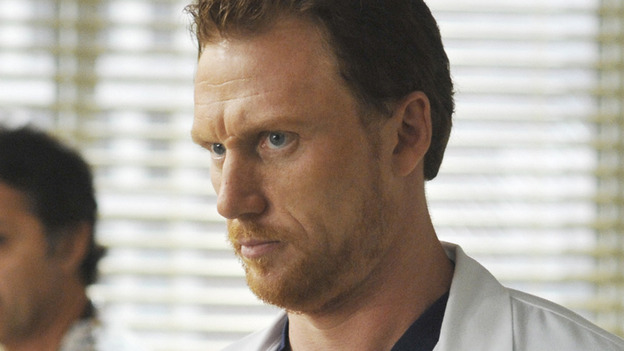 "GREY'S ANATOMY - ""Life During Wartime"" - Dr. Owen Hunt, on ""Grey's Anatomy,"" THURSDAY, OCTOBER 30 (9:00-10:01 p.m., ET) on the ABC Television Network."" (ABC/ERIC MCCANDLESS) KEVIN MCKIDD"