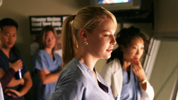 "GREY'S ANATOMY - ""Something to Talk About"" (ABC/RICHARD CARTWRIGHT)KATHERINE HEIGL, SANDRA OH"