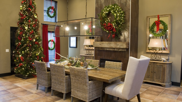 "EXTREME MAKEOVER HOME EDITION - ""Gaston Family,"" - Dining Room  Picture, on  ""Extreme Makeover Home Edition,"" Sunday, December 12th  (8:00-9:00 p.m.  ET/PT) on the ABC Television Network."