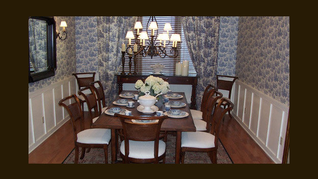 EXTREME MAKEOVER HOME EDITION - &quot;White Family,&quot; -  Dining Room, on &quot;Extreme Makeover Home Edition,&quot; Sunday, March 12th on the ABC Television Network.