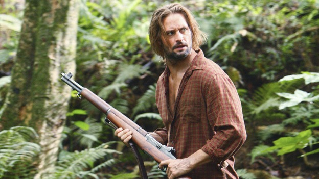 "LOST -  ""This Place is Death"" - Sawyer tries to stay alert as the island continues to flash erratically through time, on ""Lost,"" WEDNESDAY, FEBRUARY 11 (9:00-10:02 p.m., ET) on the ABC Television Network.  (ABC/MARIO PEREZ) JOSH HOLLOWAY"