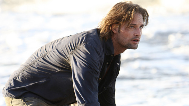 "LOST - ""Recon"" - Locke tasks Sawyer with a mission, on ""Lost,"" TUESDAY, MARCH 23 (9:00-10:00 p.m., ET) on the ABC Television Network.  (ABC/MARIO PEREZ)JOSH HOLLOWAY"