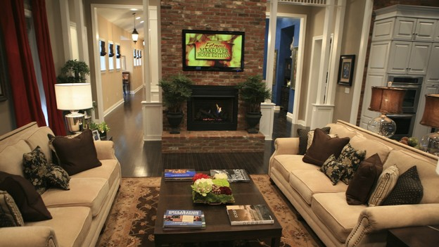 EXTREME MAKEOVER HOME EDITION - &quot;Heathcock Family,&quot; - Living Room, on &quot;Extreme Makeover Home Edition,&quot; Sunday, March 21st on the ABC Television Network.