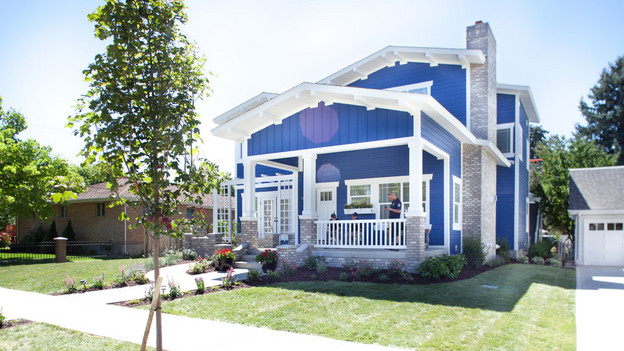 "EXTREME MAKEOVER HOME EDITION - ""Marshall-Spreier Family,"" - Exterior  Pictures, on ""Extreme Makeover Home Edition,"" Sunday, November 7th  (8:00-9:00 p.m. ET/PT) on the ABC Television Network."