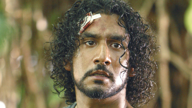 "LOST - ""Solitary"" - Sayid's life is placed in grave danger after he stumbles upon the source of the mysterious French transmission. Meanwhile, Hurley has a ridiculous plan to make life on the island a little more civilized -- and it just might work -- on ""Lost,"" WEDNESDAY, NOVEMBER 17 (8:00-9:00 p.m., ET), on the ABC Television Network. (ABC/MARIO PEREZ) NAVEEN ANDREWS"