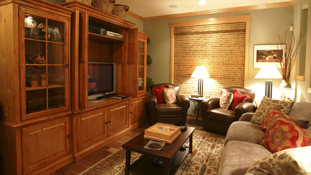 EXTREME MAKEOVER HOME EDITION - &quot;Dore Family,&quot; - Living Room, on &quot;Extreme Makeover Home Edition,&quot; Sunday, January 9th on the ABC Television Network.