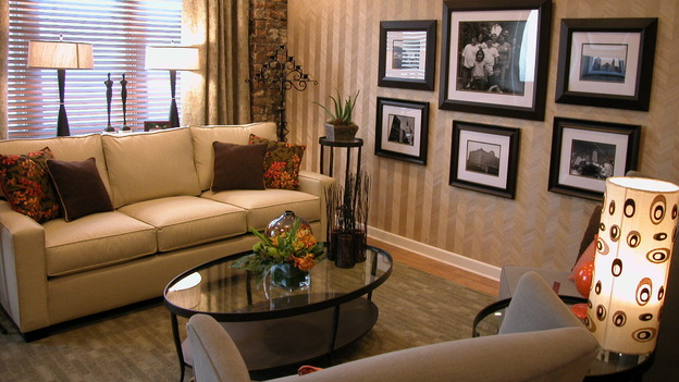 EXTREME MAKEOVER HOME EDITION - &quot;Noyola Family,&quot; - Living Rooms, on &quot;Extreme Makeover Home Edition,&quot; Sunday, January 14th on the ABC Television Network.