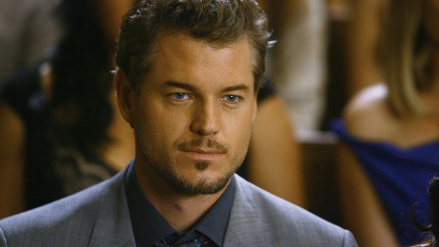 "GREY'S ANATOMY - ""What a Difference a Day Makes"" - Dr. Mark Sloan watches the wedding of Izzie Stevens and Alex Karev, on ""Grey's Anatomy,"" THURSDAY, MAY 7 (9:00-10:02 p.m., ET) on the ABC Television Network. ERIC DANE"
