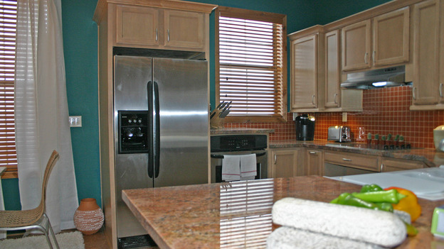 EXTREME MAKEOVER HOME EDITION - &quot;Yazzie Family&quot; - Kitchen, on &quot;Extreme Makeover Home Edition,&quot; Sunday, October 28th on the ABC Television Network.