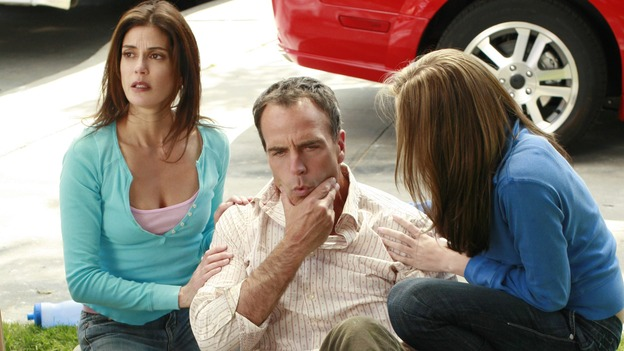 "DESPERATE HOUSEWIVES - ""Remember"" - (ABC/RON TOM)TERI HATCHER, RICHARD BURGI, ANDREA BOWEN"