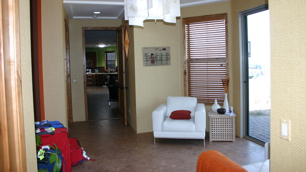 EXTREME MAKEOVER HOME EDITION - &quot;Yazzie Family&quot; - Living Room, on &quot;Extreme Makeover Home Edition,&quot; Sunday, October 28th on the ABC Television Network.