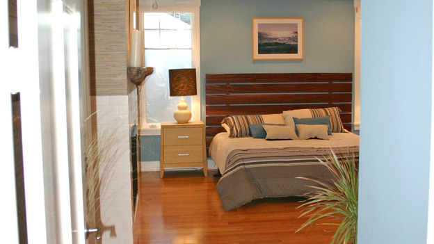 "EXTREME MAKEOVER HOME EDITION - ""Ripatti Family,"" - Master Bedroom, on ""Extreme Makeover Home Edition,"" Sunday, December 10th on the ABC Television Network."