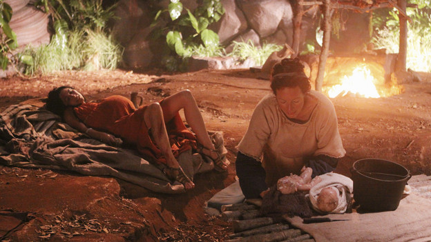 "LOST - ""Across the Sea"" - The motives of John Locke are finally explained, on ""Lost,"" TUESDAY, MAY 11 (9:00-10:00 p.m., ET) on the ABC Television Network. (ABC/MARIO PEREZ)LELA LOREN, ALLISON JANNEY"