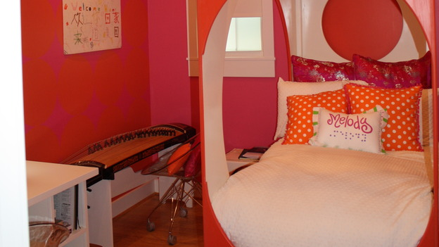 "EXTREME MAKEOVER HOME EDITION - ""Kadzis Family,"" - Girl's Bedroom Details, on ""Extreme Makeover Home Edition,"" Sunday, April 12th on the ABC Television Network."