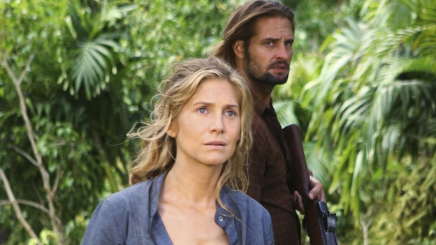"LOST - ""Jughead"" - The island's erratic movements through time bring Juliet and Sawyer closer to the Others, on ""Lost,"" WEDNESDAY, JANUARY 28 (9:00-10:02 p.m., ET) on the ABC Television Network. (ABC/MARIO PEREZ) ELIZABETH MITCHELL, JOSH HOLLOWAY"