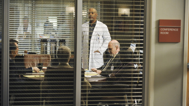 "GREY'S ANATOMY - ""Goodbye"" (ABC/ERIC MCCANDLESS)JAMES PICKENS JR., MITCH PILEGGI"