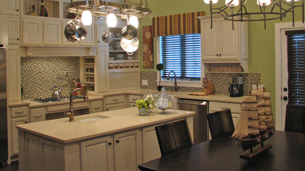 "EXTREME MAKEOVER HOME EDITION - ""Guinta,"" -  Kitchen, on ""Extreme Makeover Home Edition,"" Sunday, May 11th on the ABC Television Network."