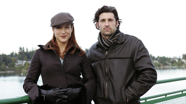 "GREY'S ANATOMY - ""Thanks for the Memories"" (ABC/CRAIG SJODIN)KATE WALSH, PATRICK DEMPSEY - BEHIND THE SCENES"