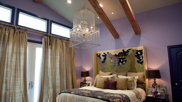 "EXTREME MAKEOVER HOME EDITION - Master Bedroom Photo, ""Zdroj Family,"" on ""Extreme Makeover Home Edition,"" Monday, December 3rd (8:00-10:00 p.m. ET/PT) on the ABC Television Network."