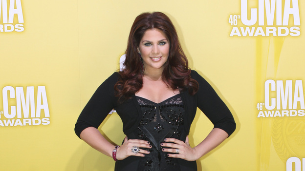 "THE 46TH ANNUAL CMA AWARDS - RED CARPET ARRIVALS - ""The 46th Annual CMA Awards"" airs live THURSDAY, NOVEMBER 1 (8:00-11:00 p.m., ET) on ABC live from the Bridgestone Arena in Nashville, Tennessee. (ABC/SARA KAUSS)HILLARY SCOTT OF LADY ANTEBELLUM"
